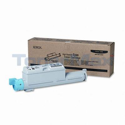 XEROX PHASER 6360 TONER CARTRIDGE CYAN 12K